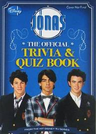 Jonas the Official Trivia & Quiz Book by Avery Scott image