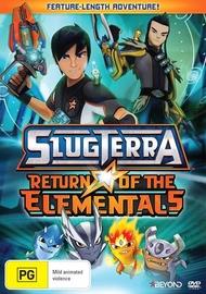 SlugTerra: Return Of The Elementals on DVD