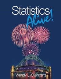 Statistics Alive! by Wendy Steinberg image