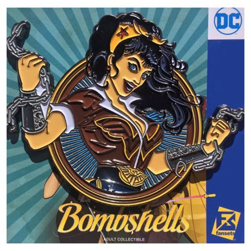 DC Bombshells - Wonder Woman Badge Pin