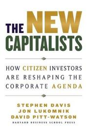 The New Capitalists by Stephen Davis