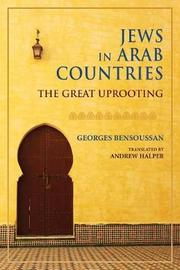 Jews in Arab Countries by Georges Bensoussan