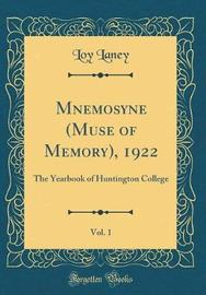 Mnemosyne (Muse of Memory), 1922, Vol. 1 by Loy Laney image