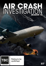 Air Crash Investigation Season 16 on DVD