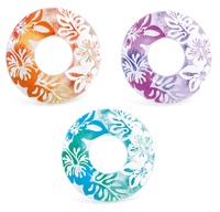 Intex: Clear Colour - Swim Ring (Assorted Designs)