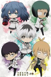 Tokyo Ghoul :Re Chibi Characters Maxi Poster (897)