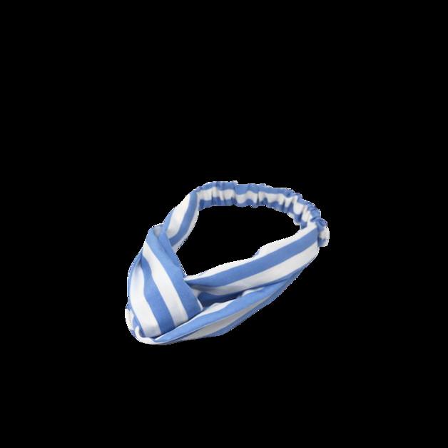 Mama Lulu: Candy Stripe Makeup Head Band - Blue