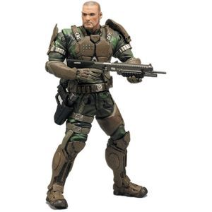 Halo Series 7 Action Figure - Sgt. Forge (Camo)