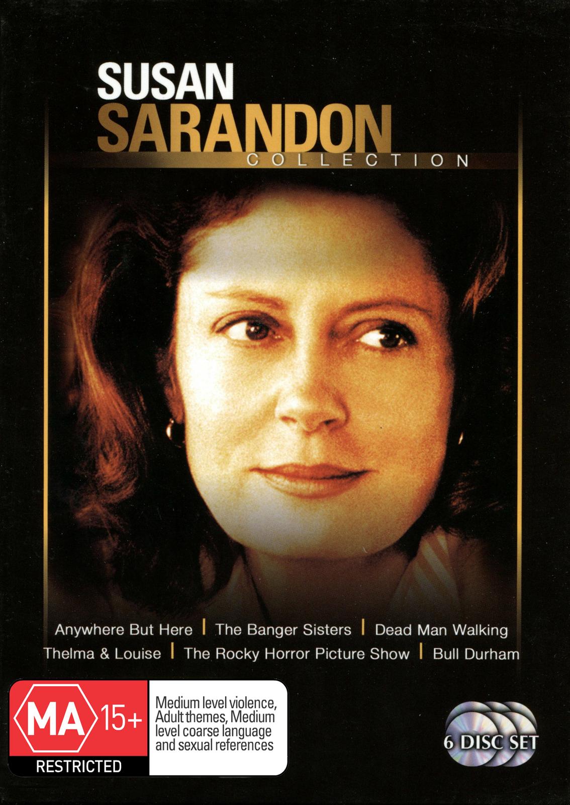 Susan Sarandon Collection (6 Disc Set) on DVD image