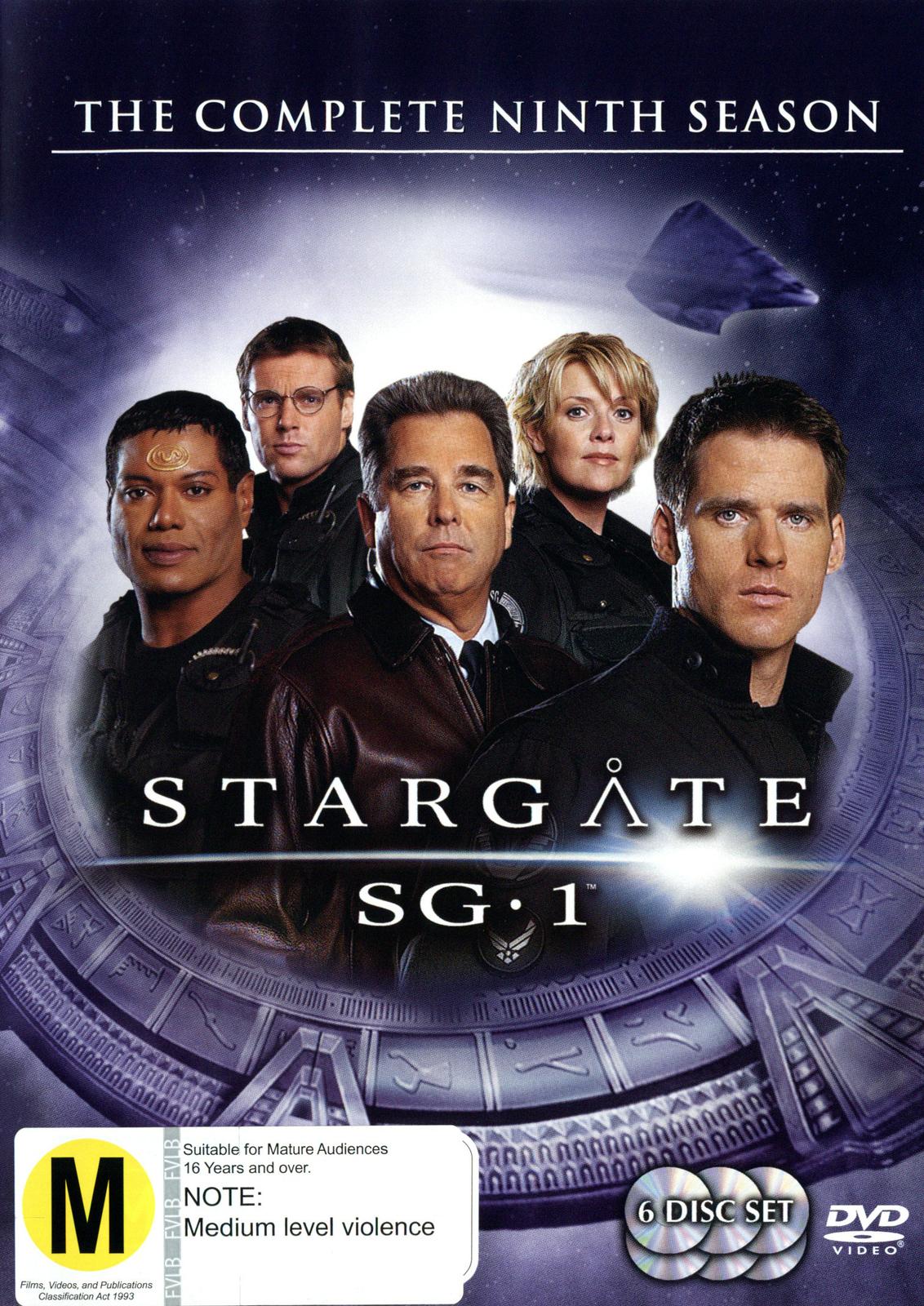 Stargate SG-1 - Season 9 (6 Disc Set) (New Packaging) on DVD image