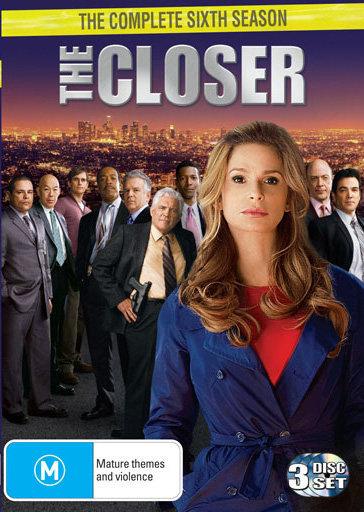 The Closer - Season 6 on DVD