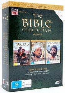 The Bible - Collection: Vol. 3 - Jacob / Jeremiah / Solomon (3 Disc Box Set) on DVD