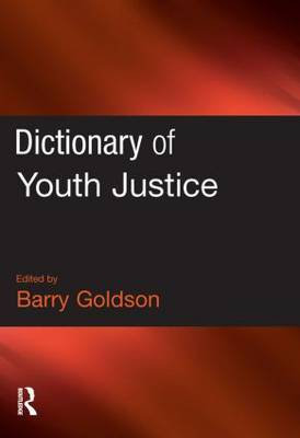 Dictionary of Youth Justice image