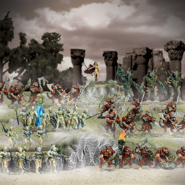 Kings of War Forces of Nature Starter Army