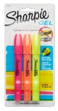Sharpie: Gel Highlighter - 3 Pack