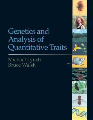 Genetics and Analysis of Quantitative Traits by Michael Lynch image