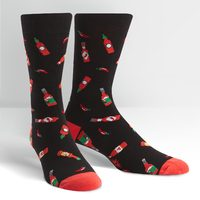Men's - Hot Sauce Crew Socks