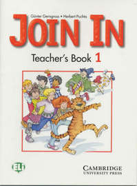 Join In Teacher's Book 1 by Gunter Gerngross image