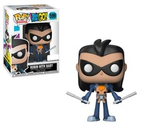 Teen Titans Go - Robin (As Nightwing/ with Baby) Pop! Vinyl Figure