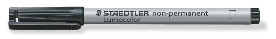 Staedtler: Lumocolor Non-Permanent Fine Tip Pen - Black image