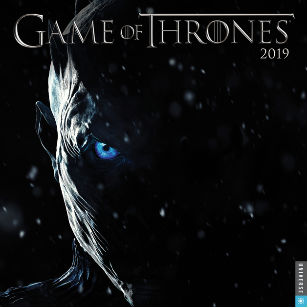 Game of Thrones 2019 Wall Calendar by HBO