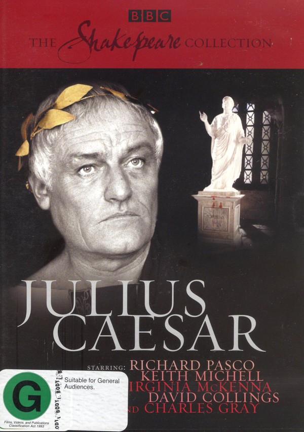 Julius Caesar (1979) (Shakespeare Collection) on DVD image