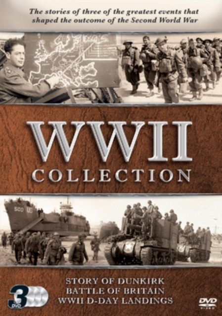 WWII Collection 3 DVD Set on DVD