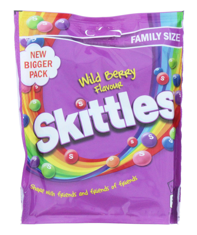 Skittles: Pouch Wildberry (196g)