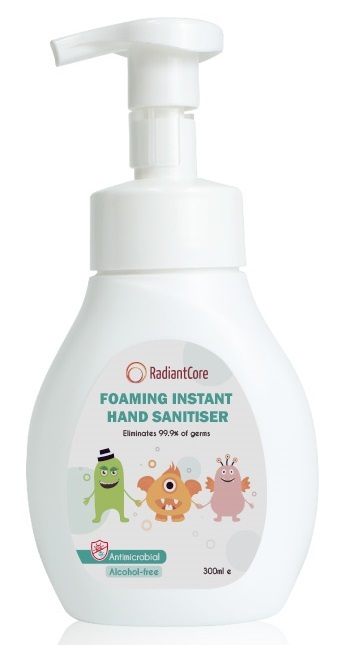 Radiant Core: Foaming Instant Hand Sanitiser - (300ml)