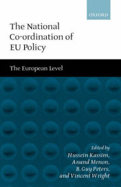 The National Co-ordination of EU Policy by Vincent Wright image