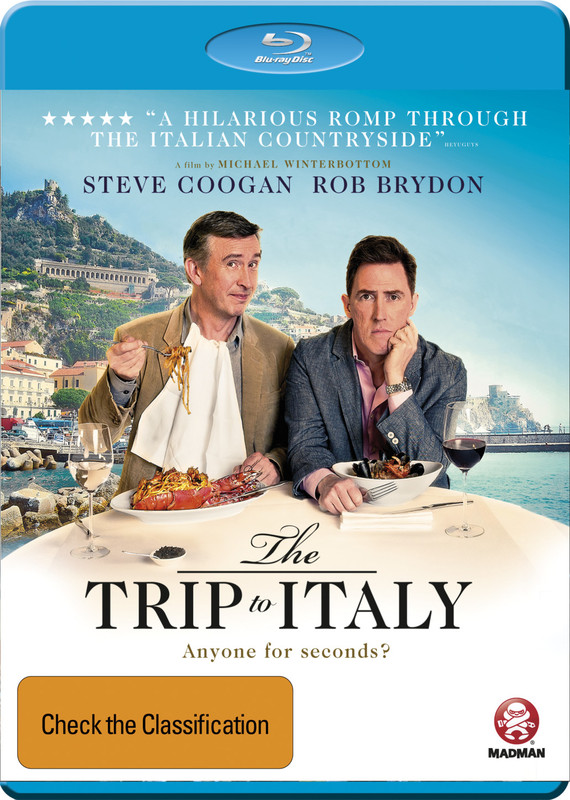 The Trip to Italy on Blu-ray