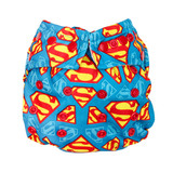 Bumkins DC Comics Snap in One Nappy - Superman Icons