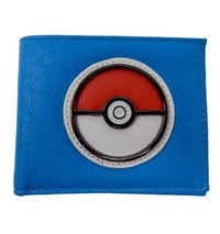 Pokemon: Pokeball - Blue Bi-Fold Wallet