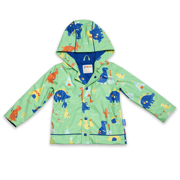 Raincoat Dino Rock - Size 3-4