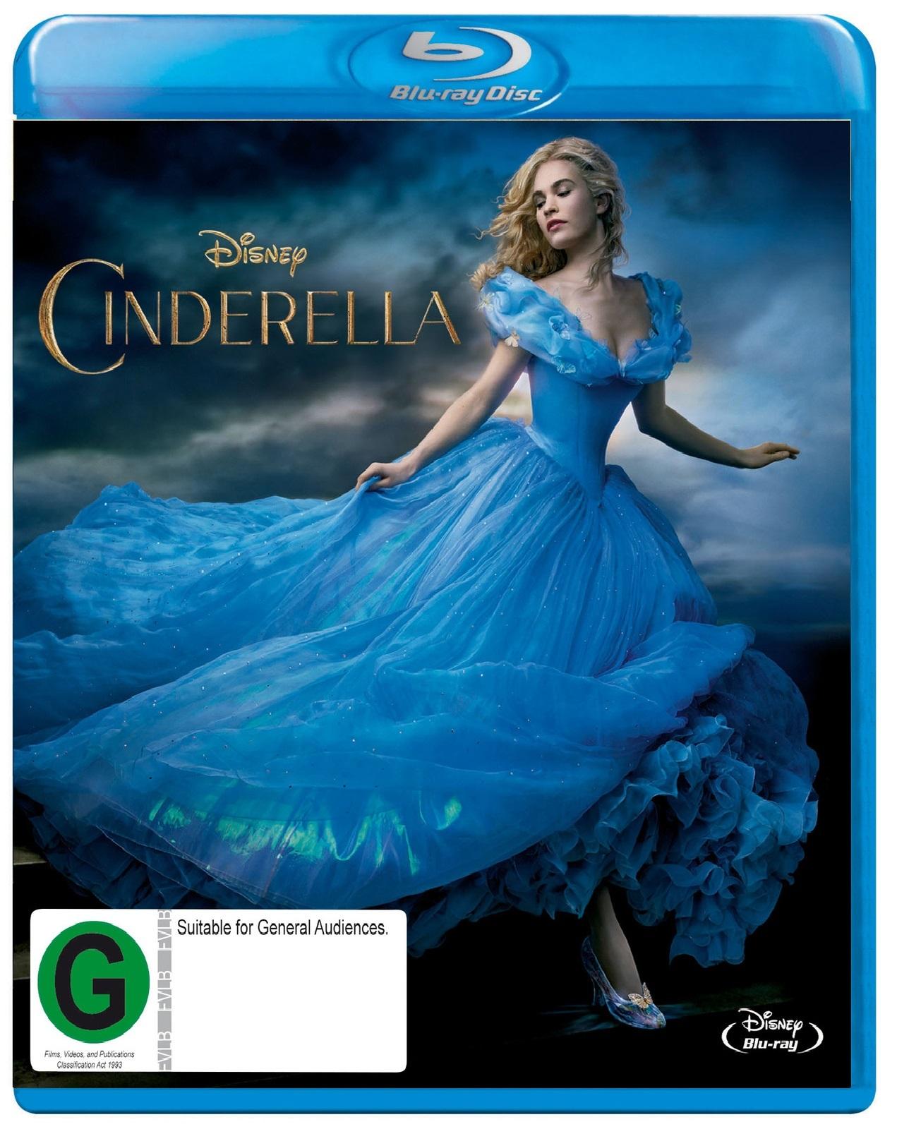 Cinderella (2015) on Blu-ray image