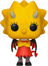 The Simpsons - Lisa (As Devil) Pop! Vinyl Figure image