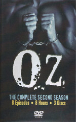 Oz - Complete Season 2 (3 Disc Set) on DVD