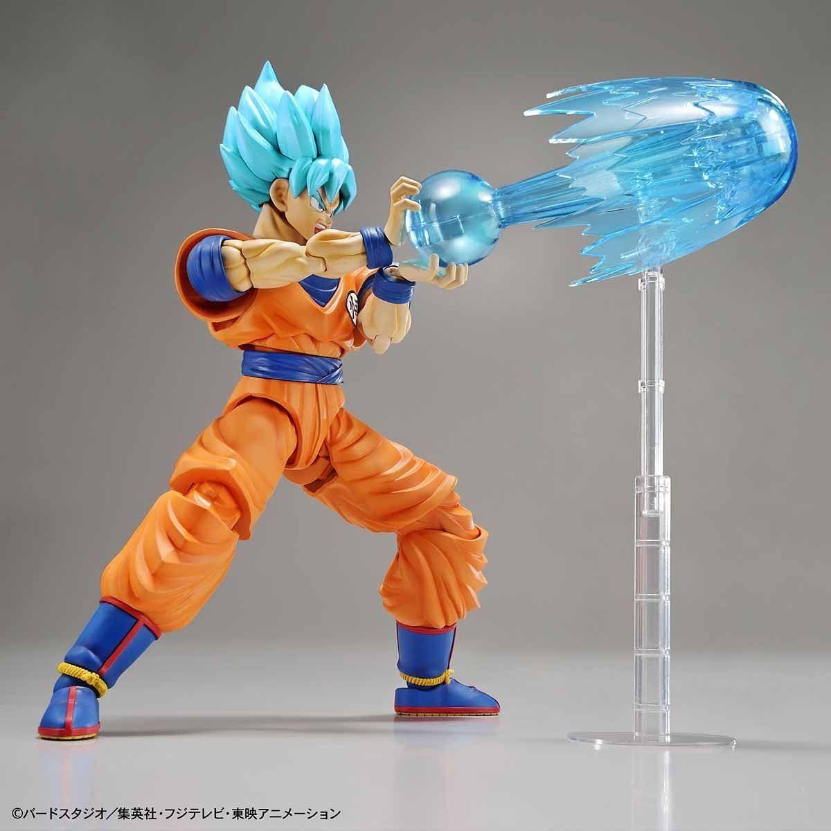 Dragon Ball: Figure-rise: SSGSS Son Goku (SS-Blue) - Model Kit image