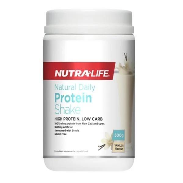 Nutra-Life: Natural Daily Protein Powder - Vanilla (500g)