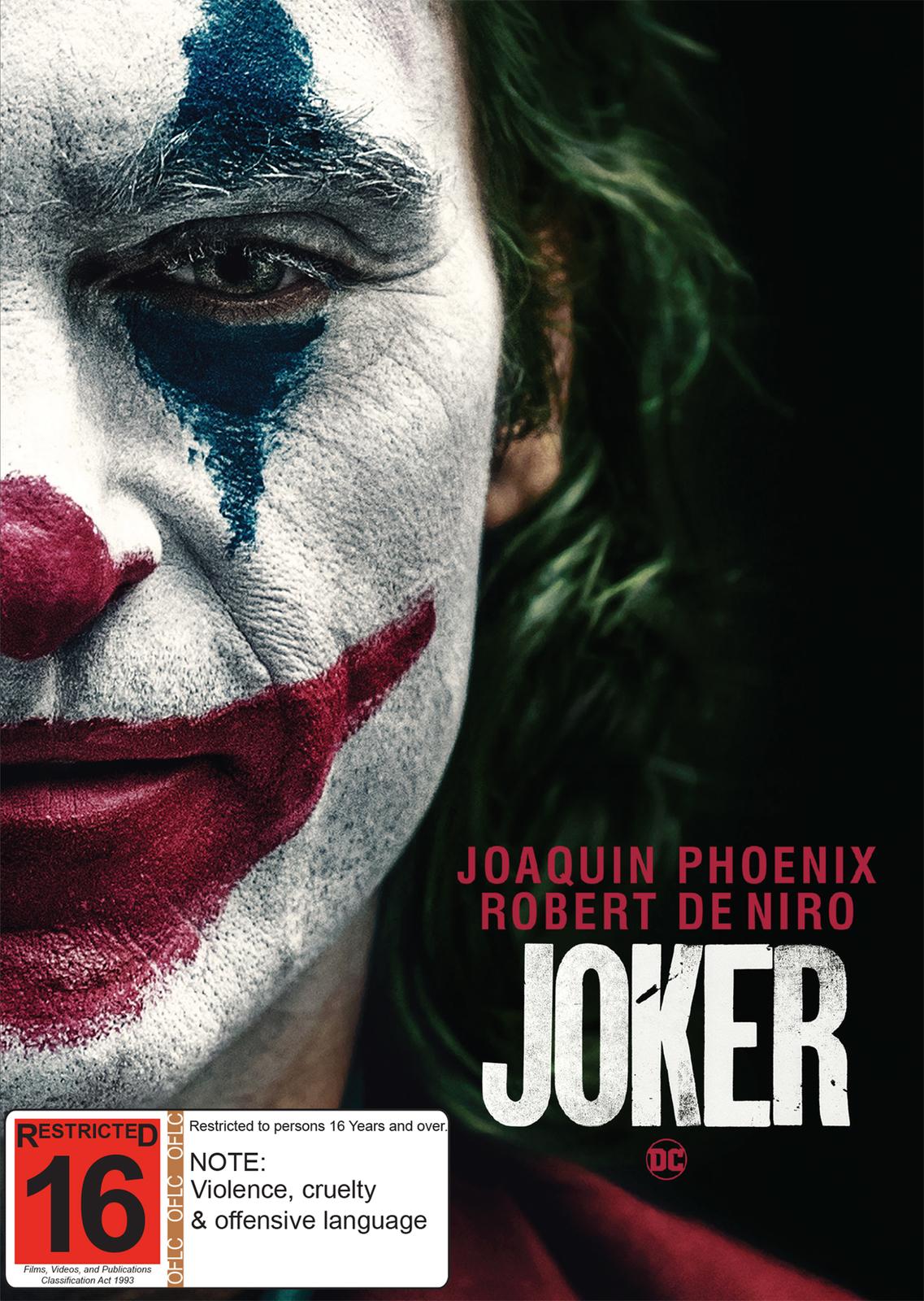 Joker on DVD image