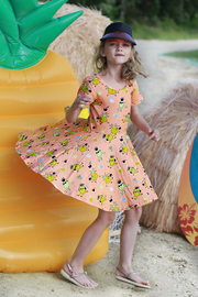 Raspberry Republic: Dress Pineapple Punch (Size 5) image