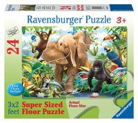 Ravensburger 24 Piece Super Size Jigsaw Puzzle - Jungle Juniors
