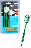 Puma Pinnacle 22gm Coloured Brass Darts (Set 3)