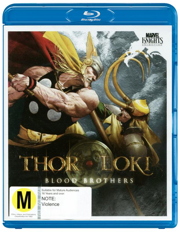 Thor & Loki: Blood Brothers on Blu-ray