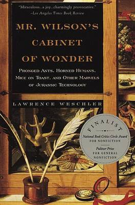 Mr Wilson's Cabinet of Wonder by Lawrence Weschler