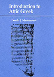 Introduction to Attic Greek by Donald J. Mastronarde image