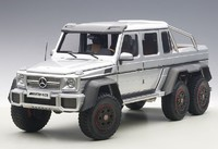 AUTOart: 1/18 Mercedes Benz G63 AMG 6x6 (Silver) - Diecast Model