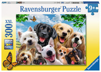 Ravensburger: Delighted Dogs - 300pc Puzzle image