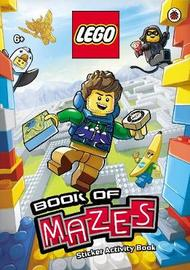 LEGO Book of Mazes Sticker Activity Book