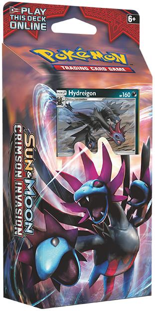 Pokemon TCG Crimson Invasion Theme Deck: Hydreigon